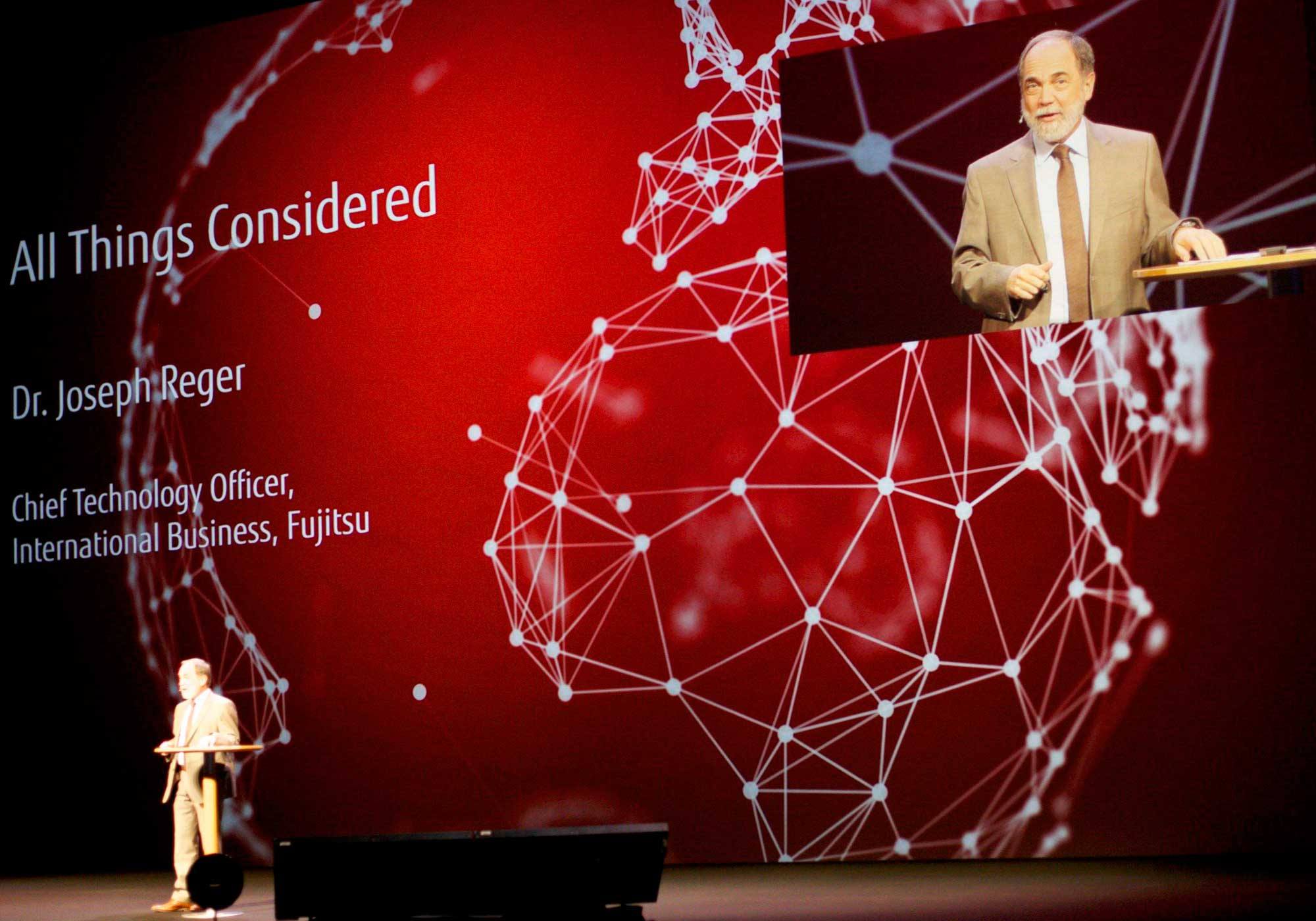 Joseph Reger, Fujitsu Fellow and Chief Technology Officer EMEIA: What's on the CTO's mind?