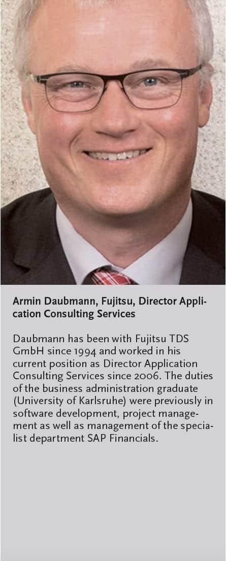 Armin Daubmann, Fujitsu