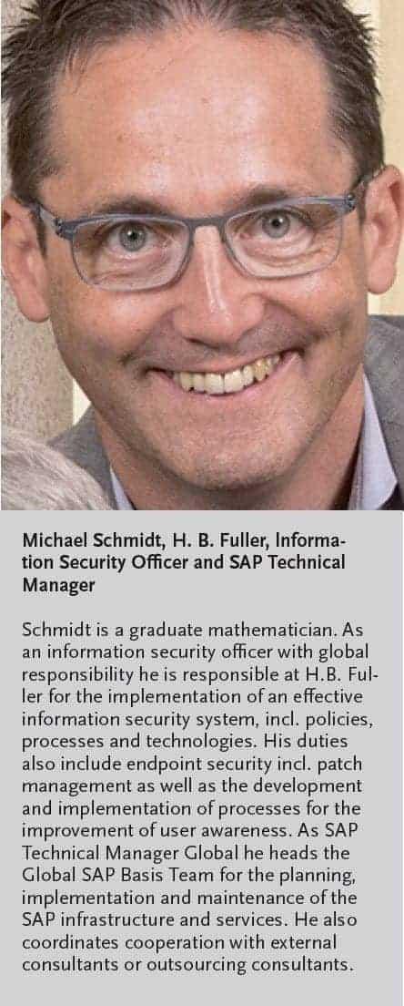 Michael Schmidt, H. B. Fuller
