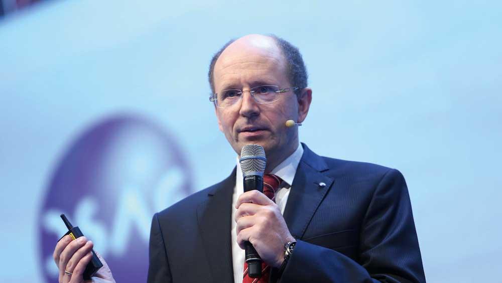 digitalization DSAG Chairman Dr. Marco Lenck (the German-speaking SAP User Group)