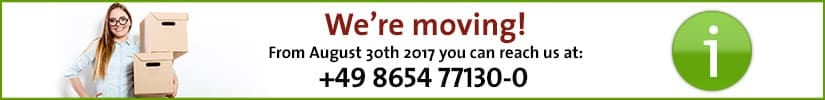 We're moving.
