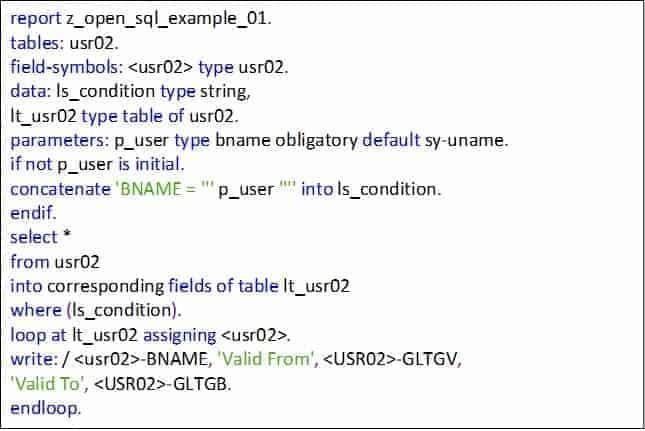 Abap Code Vulnerability - Battling SQL Injections