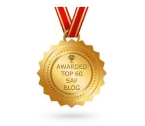 Feedspot Top 60 SAP Blogs 2017