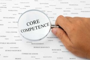 Amidst the bombardment of buzzwords, it's getting hard to find a companies core competence. That is also true for SAP. [shutterstock: 63443797, Muemoon]