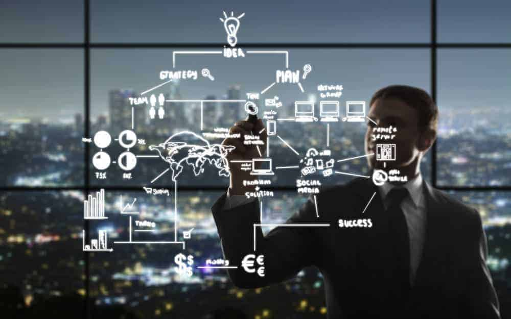 accenture The partnership aims at providing high-tech companies with the tools to quickly create digital business models. [shutterstock: 161119229, Peshkova]