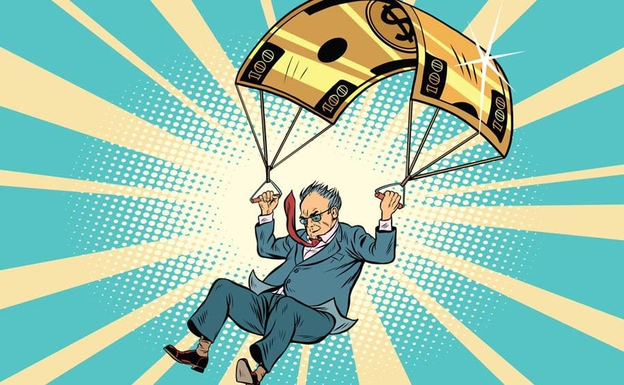 SAP had to pull the rope on the golden parachute. What does this mean? Well, Bill McDermott would like to know that too, apparently. [shutterstock: 744038299, rogistok]