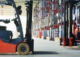 Intelligent warehousing will be crucial for a logistics company's future market success. [shutterstock: 238796200, Dmitry Kalinovsky]