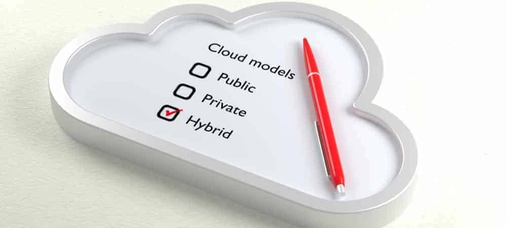 Hybrid Cloud Future Bright As Enterprises Move Apps Back On Prem