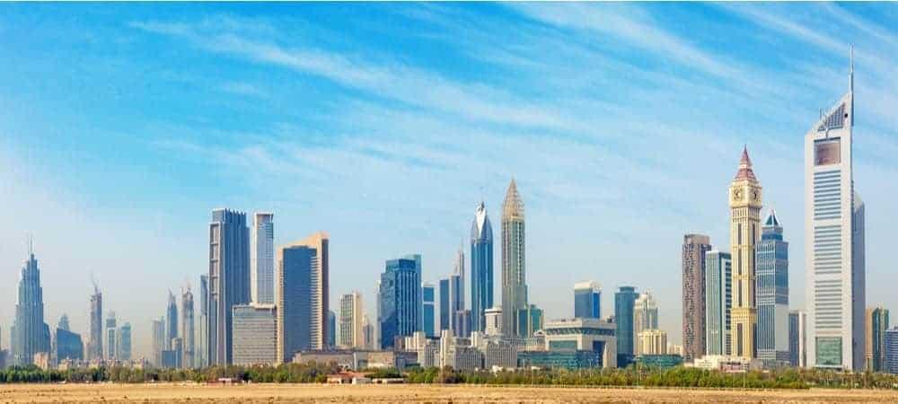 Dubai Tourism Accenture [shutterstock: 661394776, Renata Sedmakova]