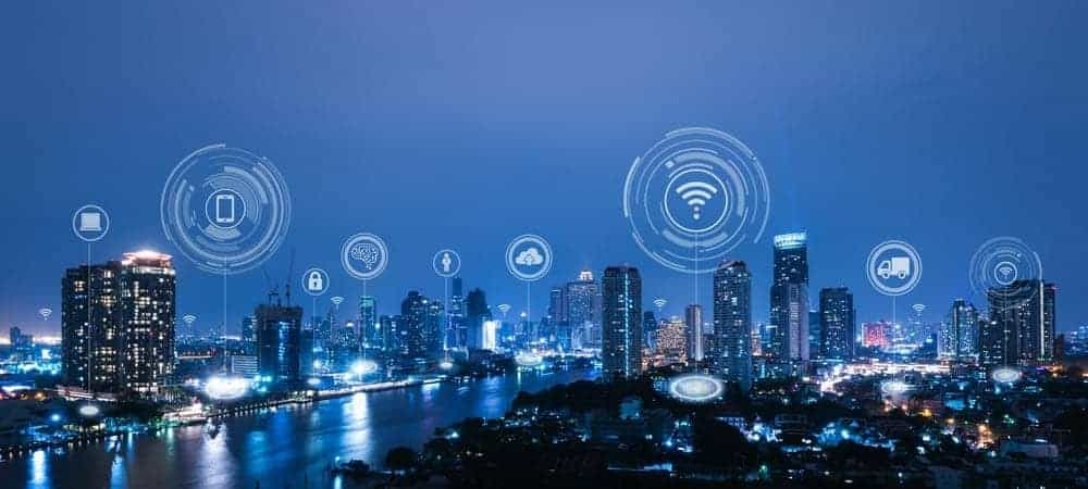 smart city cloud IoT [shutterstock: 1203798238, Vasin Lee]
