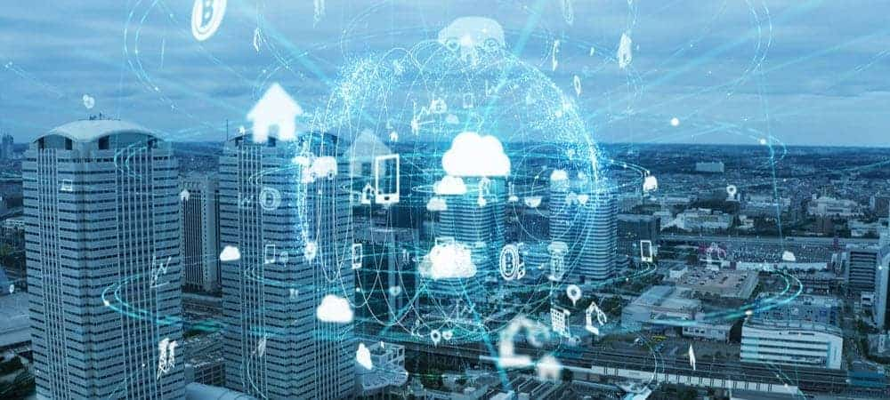 cloud digital automation digitalization [shutterstock: 1551203972, metamorworks]