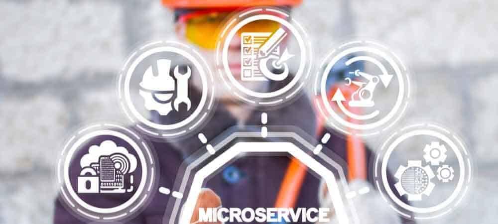 SAP Development Microservices [shutterstock: 1359882512, Panchenko Vladimir]