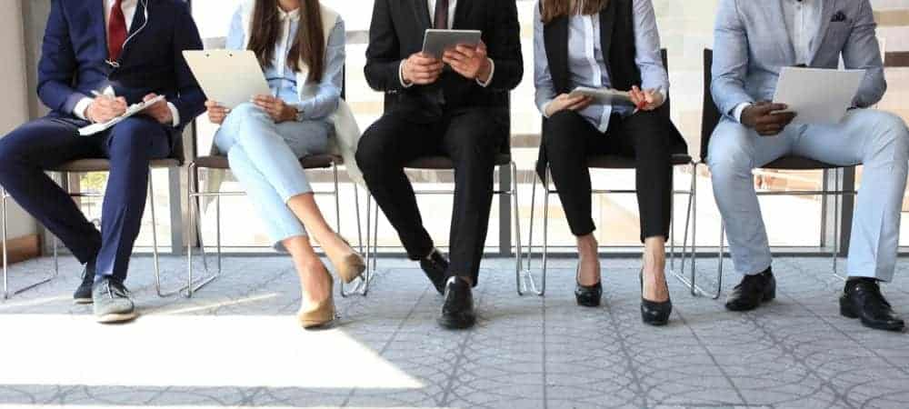 adaface job interview [shutterstock: 450970201, tsyhun]