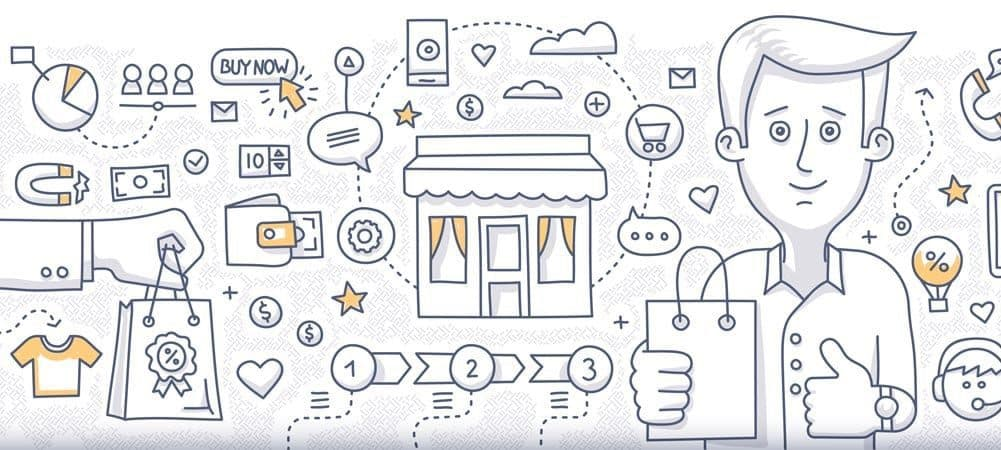 digital transformation consumer experience [shutterstock: 309232550, rassco]